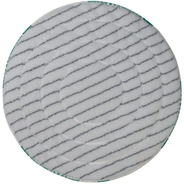 """Meiko Microfaser-Borsten-Pad Micro BRUSH 16"""" weiß-grau"""