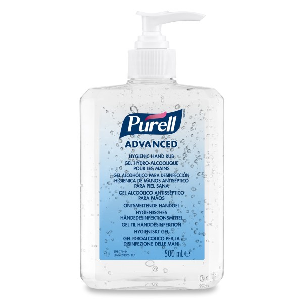 PURELL® Advanced Händedesinfektionsgel 500ml Pumpflasche