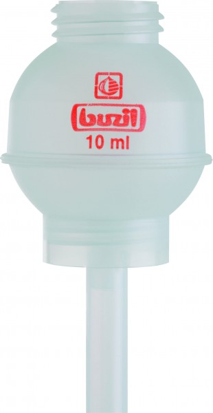 Buzil Dosierkugel transparent für 1L Flasche 10ml, 20ml, 50ml
