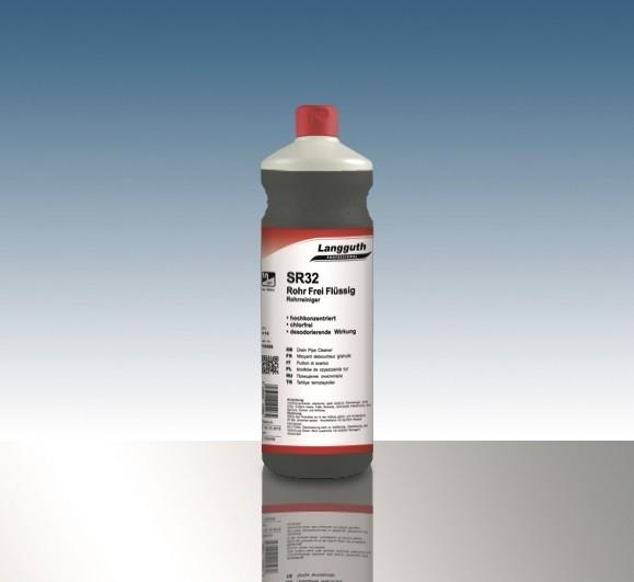Rohr Frei flüssig (SR32) 1L Flasche