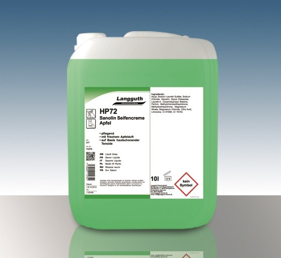 Sanolin Apfel Cremeseife (HP72) 10L Kanister