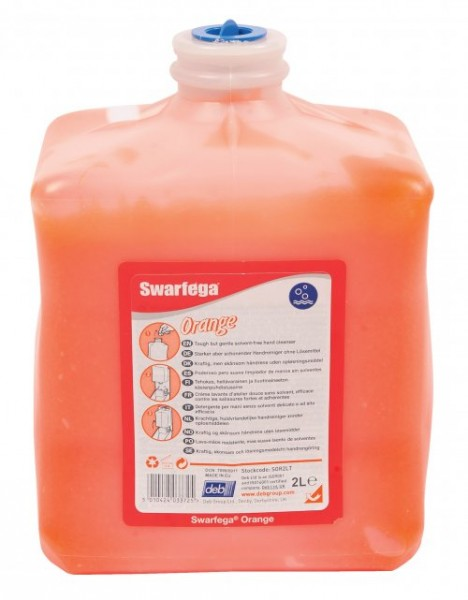 deb-stoko® SWARFEGA® Orange 2L Kartusche