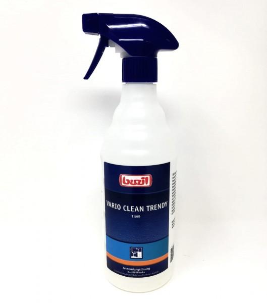 Buzil Spezial Leerfalsche + Sprühkopf blau für Vario Clean Trendy 600ml