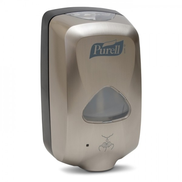 PURELL® TFX™ berührungsloser Händedesinfektionsmittelspender metallic/schwarz