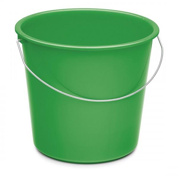Nölle Haushaltseimer, grün, 10 Liter, Kunststoff