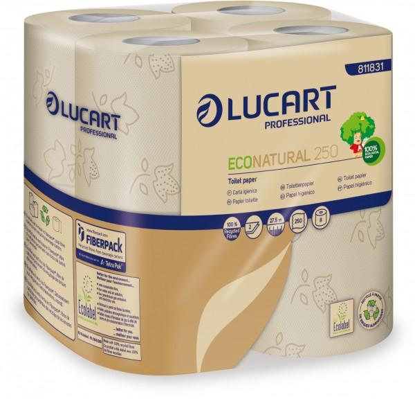 ECO NATURAL fiberpack® 250 Toilettenpapier
