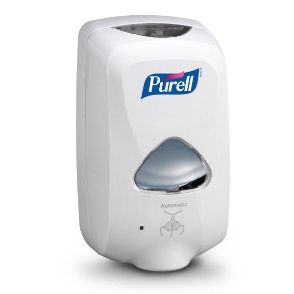 PURELL® TFX™ berührungsloser Händedesinfektionsmittelspender weiß
