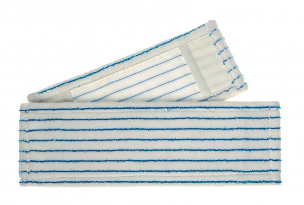 Meiko Microfaser-Borsten-Mopp soft weiß-blau