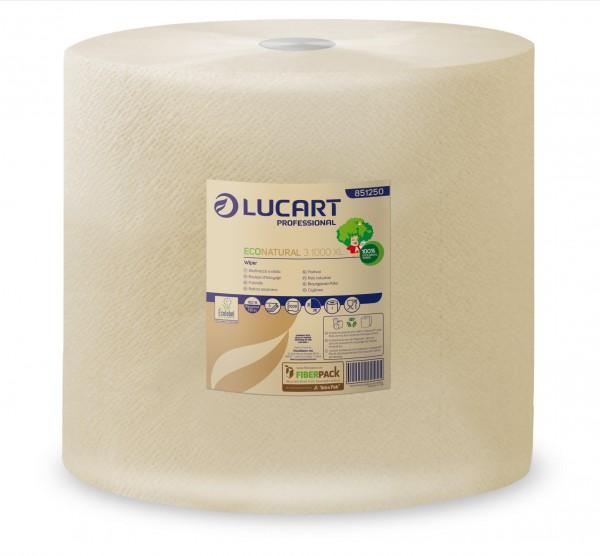LUCART EcoNatural 3.1000XL Putzrolle