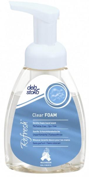 deb-stoko® Refresh™ Clear FOAM 250ml Pumpflasche