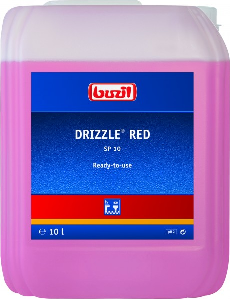 Buzil Drizzle® Red (SP10) 10L Kanister