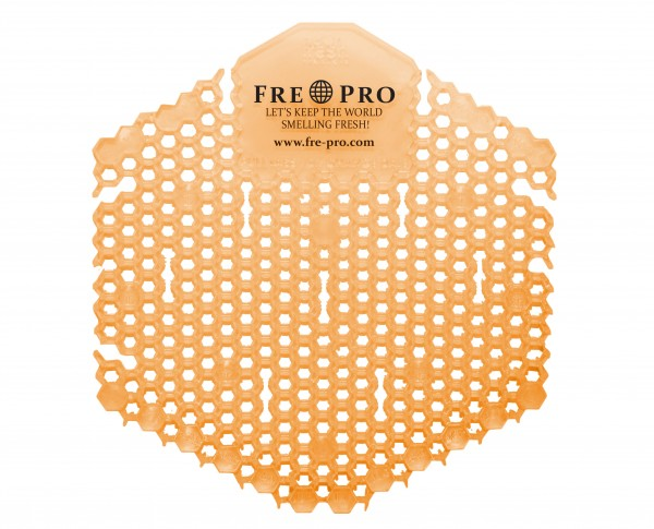 Fre Pro Wave 3D Urinalsieb mit Duft orange Mango