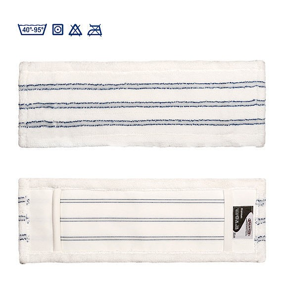 SPRiNTUS Mikrofasermopp PREMIUM weiß/blau 90g / 40cm