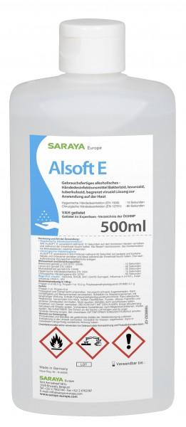 Saraya Alsoft E 500ml, Standardflasche (Euro)