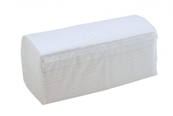 IBEKO Classic Falthandtuch weiß 2-lg., Zellstoff 4.000 Blatt