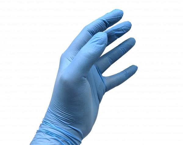 tenty® Nitril-Einweghandschuhe blau
