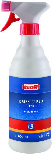 Buzil Drizzle® Red (SP10) 600ml Verschäumerflasche