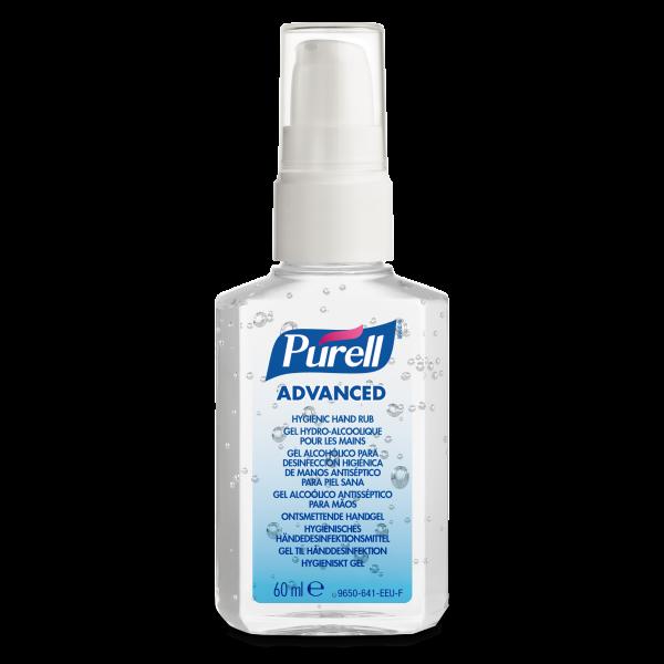 PURELL® Advanced Händedesinfektionsgel 60ml Pumpflasche