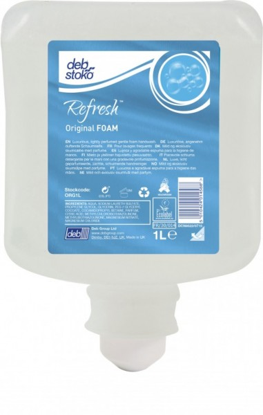 deb-stoko® Refresh™ Original FOAM Wash 1L Kartusche