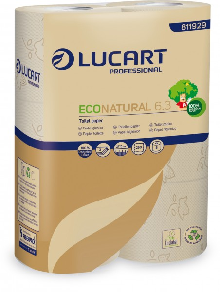 ECO NATURAL fiberpack® 6.3 Toilettenpapier