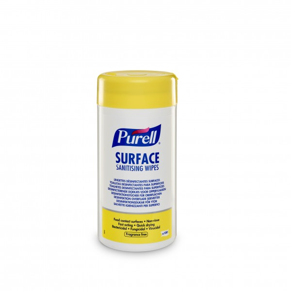 PURELL® Surface Sanitising Wipes, 100er Dose