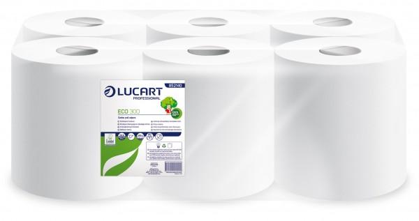 Lucart ECO 300 Handtuchrolle/Putzrolle