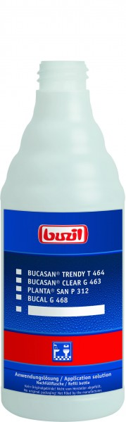 Buzil Leerflasche Anwenderlösung Sanitär 600 ml (H310)