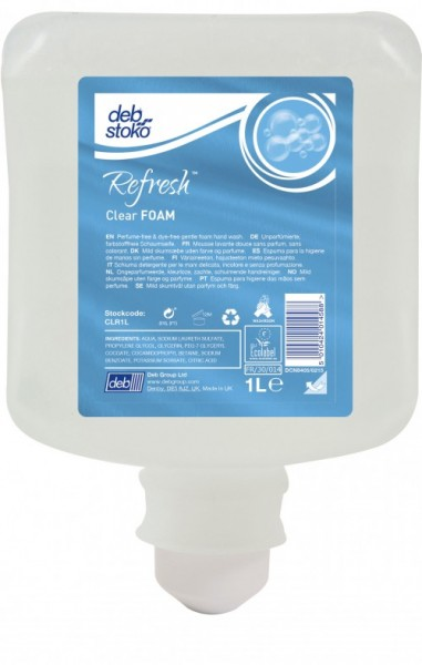 deb-stoko® Refresh™ Clear FOAM 1L Kartusche