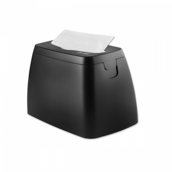 LUCART Tischspender TABLE schwarz/grau