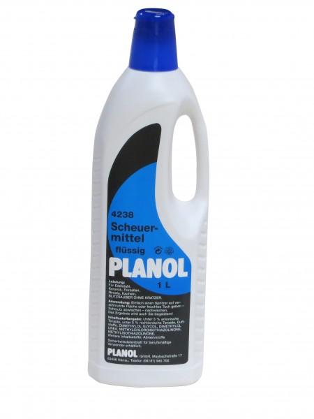 """PLANOL Scheuermittel """"Scheuermilch"""" flüssig 1L Flasche"""