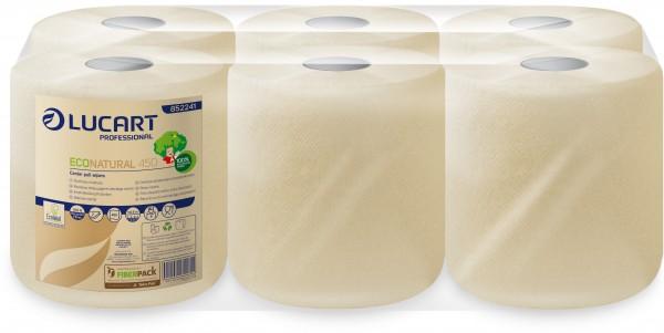 ECO NATURAL fiberpack® 450 kompakte Handtuchrolle/Putzrolle