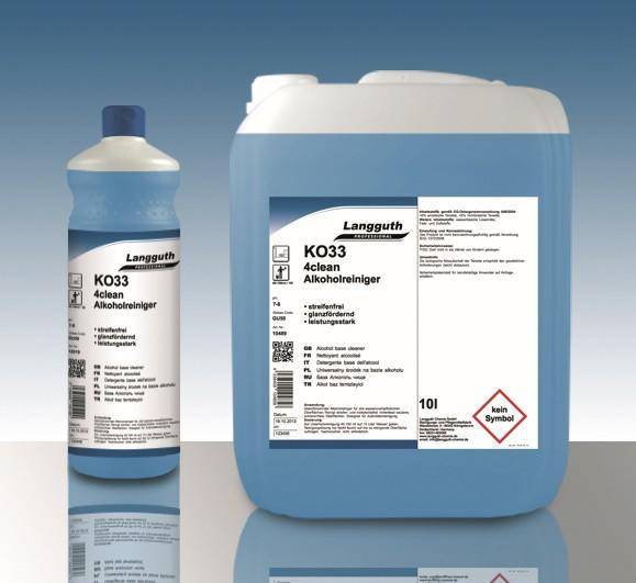 4clean Alkoholreiniger (KO33) 10L Kanister