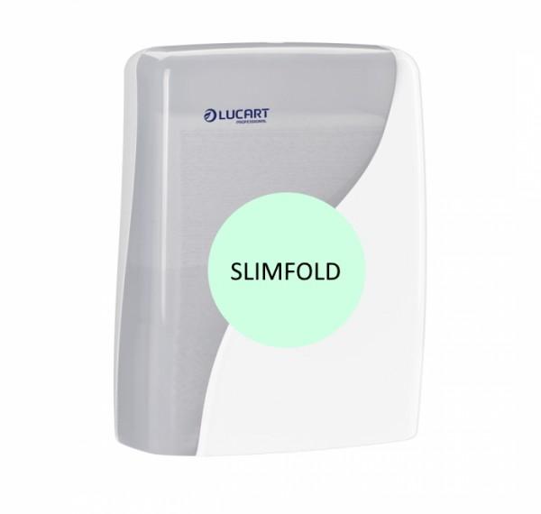LUCART Identity Slimfold Interfold-Handtuchrspender weiß