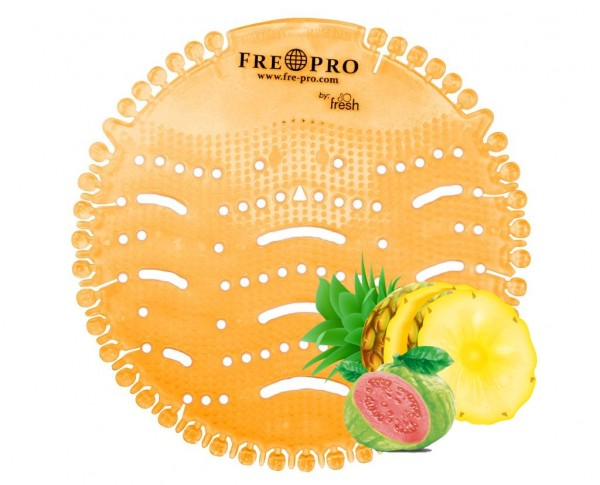 Fre Pro Wave 1 Urinalsieb mit Duft Guave Ananas LIMITED EDITION orange2