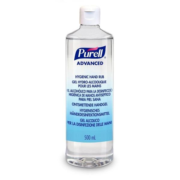 PURELL® Advanced Händedesinfektionsgel 500ml Flip-Top-Flasche