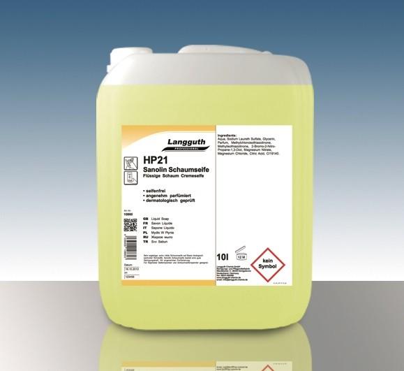 Sanolin Schaumseife (HP21) 5L Kanister